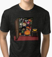 Carnikids: Trick-or-Treat Color (Dark) Tri-blend T-Shirt