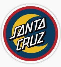 Santa Cruz Logo - Moon Sticker