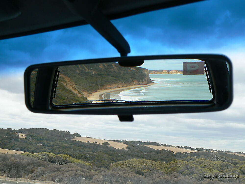 Rear view mirror by Steve Giddings