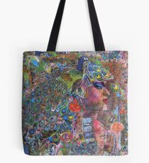Please feed my peacock  Tote Bag