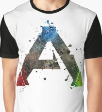 Ark Survival Splatter Graphic T-Shirt