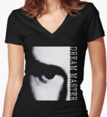 Dream Master (Black) Women's Fitted V-Neck T-Shirt