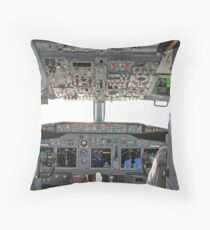 Cockpit Throw Pillow