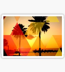 Miami Sunrise Sticker
