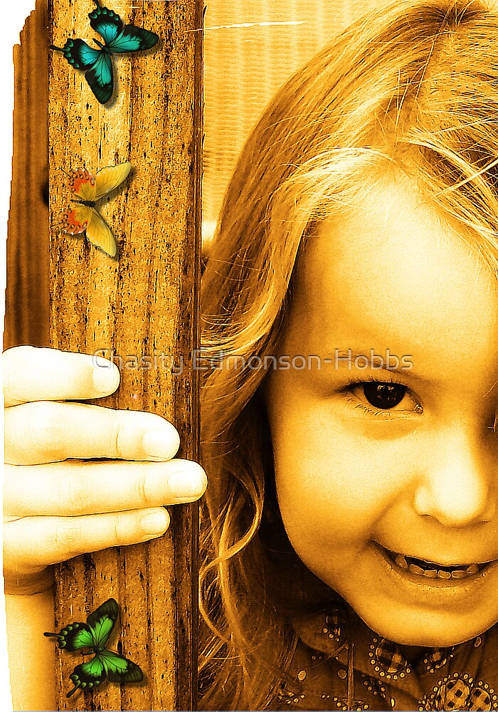 Jayden & Butterflies by Chasity Edmonson-Hobbs