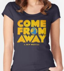 come from away Women's Fitted Scoop T-Shirt