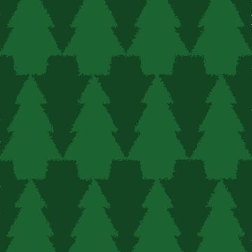 Teselación de árboles de pino de cjackvony