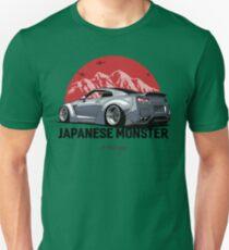 Nissan GTR. Japanese Monster (grey) Unisex T-Shirt