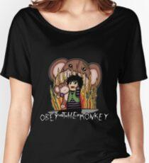 Carnikids: Corby Monkey Shirt Women's Relaxed Fit T-Shirt