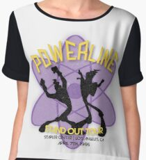 Vintage Powerline Concert Logo - A Goofy Movie Chiffon Top
