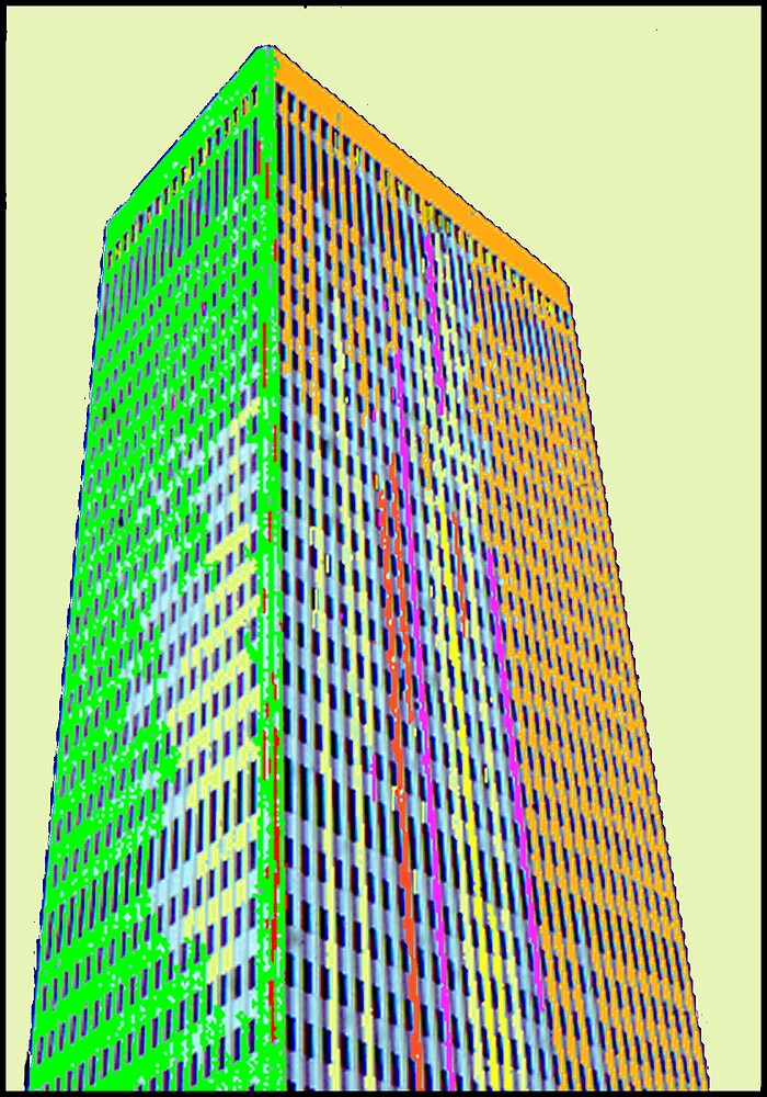 ABSTRACT-SKYSCRAPER by JOHNNYC