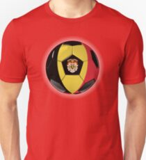 Belgium - Belgian Flag - Football or Soccer Unisex T-Shirt