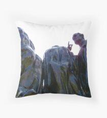 Burghers of Calais, London Throw Pillow