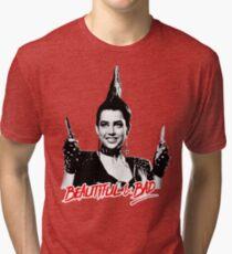 Beautiful & BAD (Nightmare on Elm Street 3: Dream Warriors) Tri-blend T-Shirt