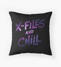 the x files Throw Pillow