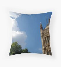 House of Parliament, London Throw Pillow