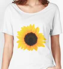 Sunflower Single Bloom Women's Relaxed Fit T-Shirt