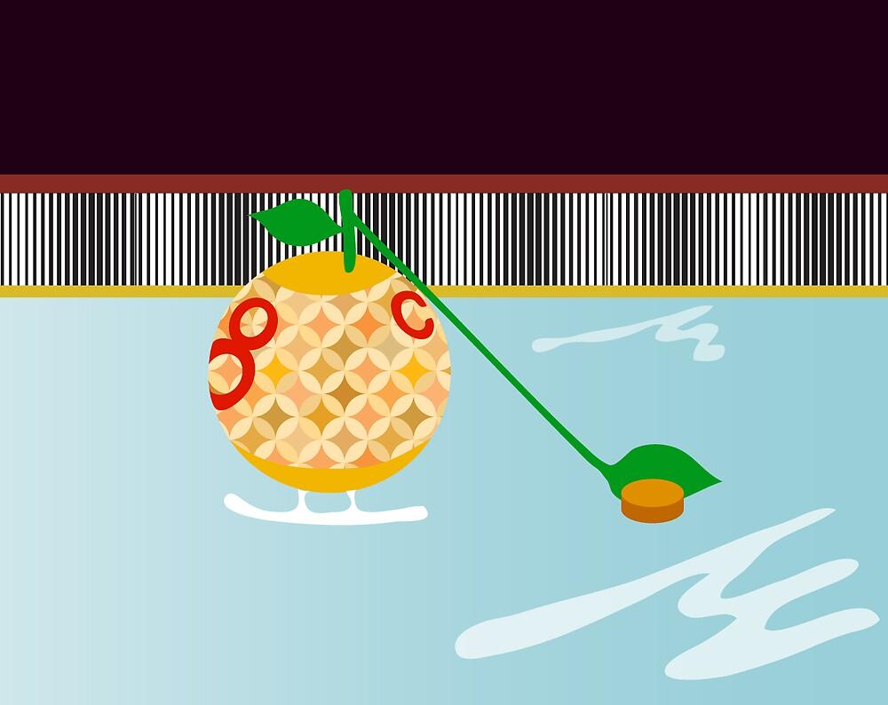 Oranges Play Hockey Too by orangepulp