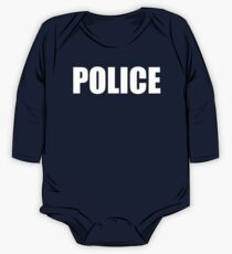 Police One Piece - Long Sleeve