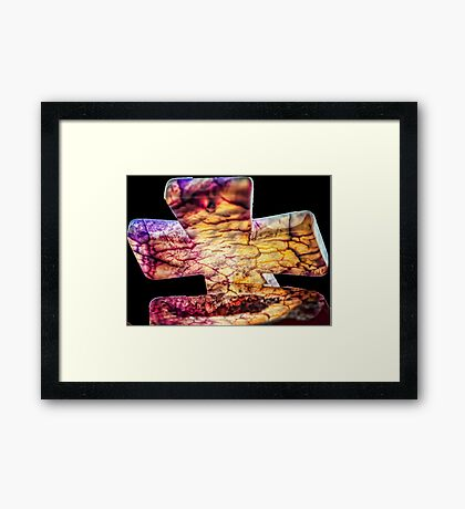Cross of Ages Framed Print