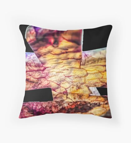 Cross of Ages Throw Pillow