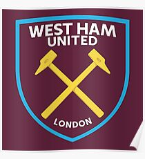 WEST HAM UNITED FC Poster