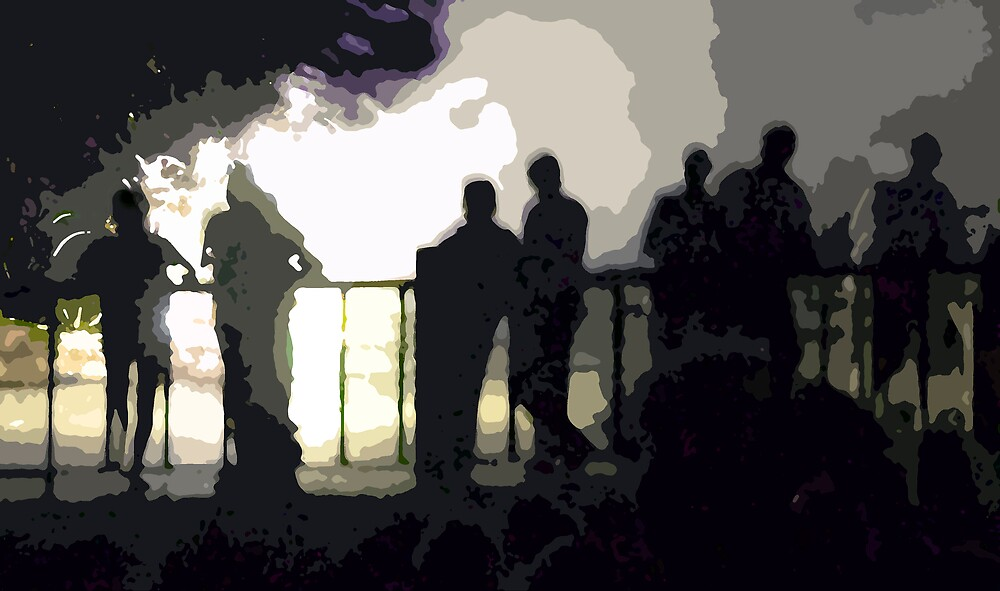Shadowy People by Linda J Armstrong