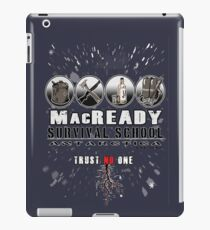 MacReady School of Survival iPad Case/Skin