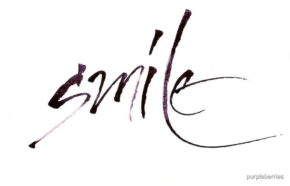 Smile by purpleberries