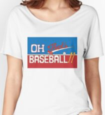 Oh! That's a Baseball!! JJBA Jojo's Bizarre Adventure Women's Relaxed Fit T-Shirt