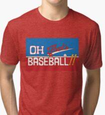 Camiseta de tejido mixto Oh! ¡Eso es una pelota de béisbol! JJBA Jojo's Bizarre Adventure