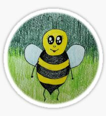 Baby bumble bee Sticker