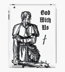 God With Us - Nobiscum Deus iPad Case/Skin