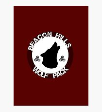 Beacon Hills Wolf Pack 2 Photographic Print