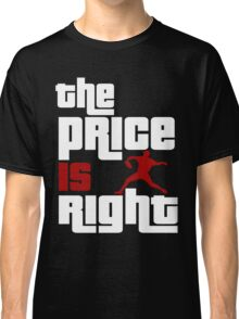The Price Is Right Boston Baseball Pitcher Classic T-Shirt