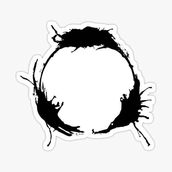 "Heptapod B (Translation: ""TIME"" [Nonlinear]) Sticker"