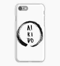 Aikido Enso iPhone Case/Skin