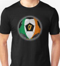 Ireland - Irish Flag - Football or Soccer T-Shirt