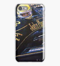 Ayrton Senna Lotus 98T1986 01 iPhone Case/Skin