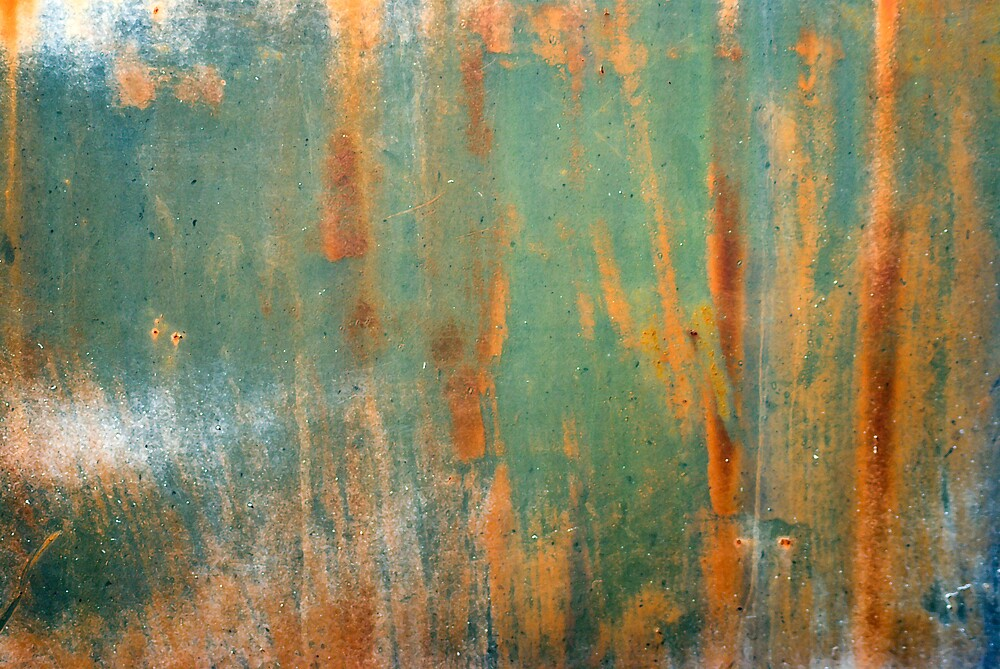 Green Abstract by Linda J Armstrong