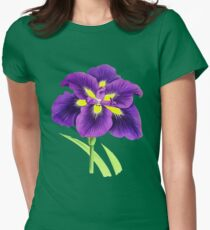 Spring Flower - Vintage Purple Flower T-Shirt
