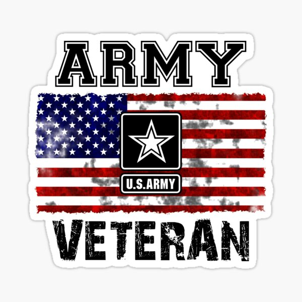 US Army Veteran Sticker