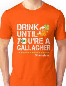 St Patrick's Day - Shameless Unisex T-Shirt