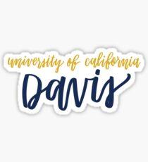 UC Davis Sticker