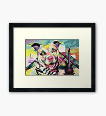 Rockstar Pup Framed Print