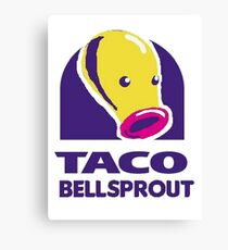 taco bellsprout Canvas Print