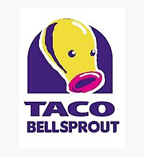 taco bellsprout Photographic Print