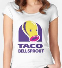 taco bellsprout Women's Fitted Scoop T-Shirt