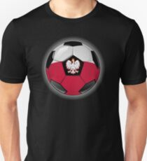 Poland - Polish Flag - Football or Soccer T-Shirt