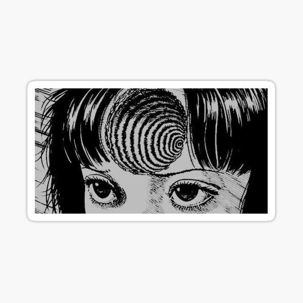Uzumaki Spiral sticker Sticker